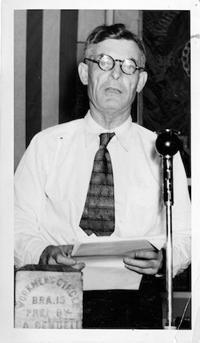 Jasper McLevy, Connecticut Socialist Party convention, Hartford, September 1936 - Hartford Public Library, Hartford History Center, Hartford Times collection