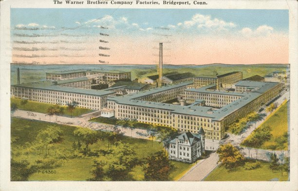 Postcard of the Warners Brothers Company Factories