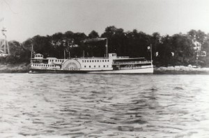 Photograph of the steamer Margaret which serviced the Thimble Islands - Branford Historical Society