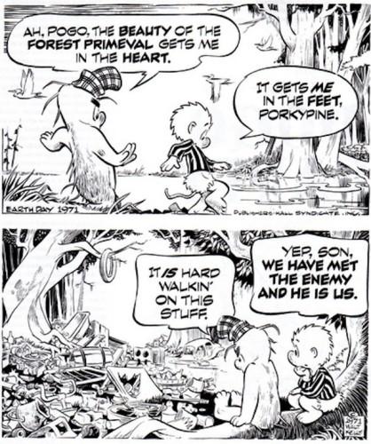 Walt kelly comic strip