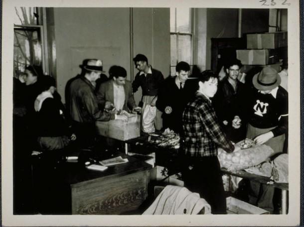 Red Cross Headquarters, Hurricane of 1944