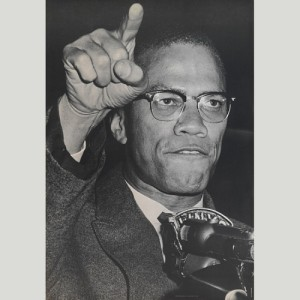 Halftone poster of Malcolm X by Personality Posters, ca. 1967 - National Portrait Gallery, Smithsonian Institution