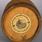 Hazard Powder Company gunpowder barrel