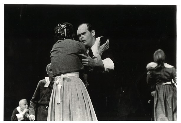 Long Wharf Theatre production of The Crucible by Arthur Miller, 1965 - Courtesy of Long Wharf Theatre
