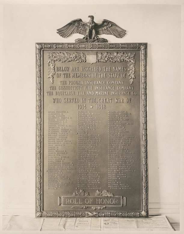 Roll of Honor Tablet