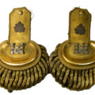 General Mansfield's uniform epaulets