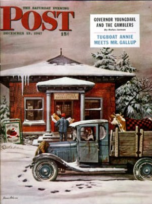Stevan Dohanos, Rural Post Office at Christmas