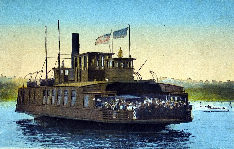 Steam ferry boat Governor Winthrop