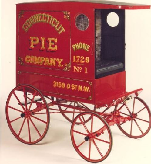 Connecticut Pie Company wagon