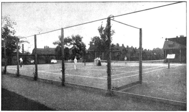 The Tennis Courts - Pope Park