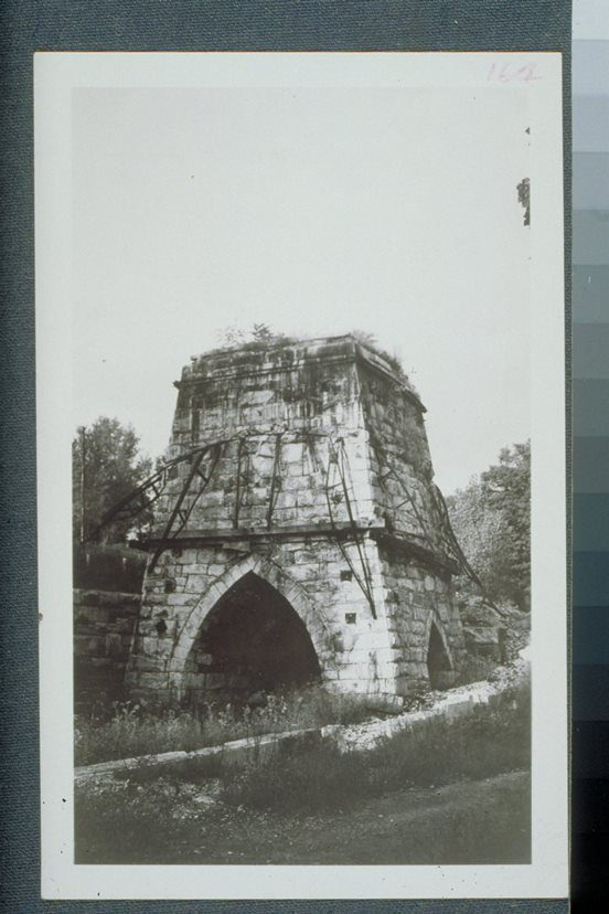Remains of the Forbes furnace