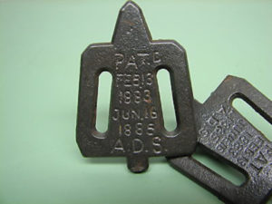 The Shattuck Stretcher Key patented in 1883.
