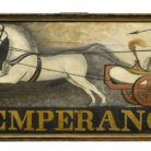 Sign for the Temperance Hotel, ca. 1826-1842