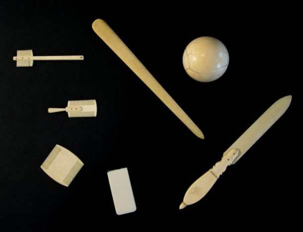 Ivoryton's Comstock, Cheney Co. produced a variety of ivory goods