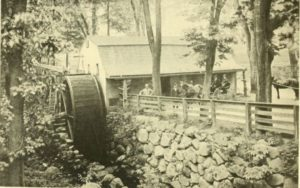 Photograph of the Old Town Mill, Built 1650
