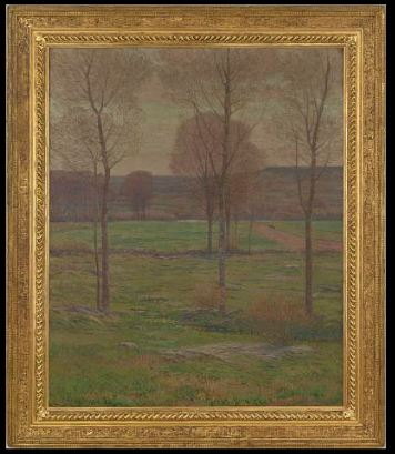 Early Spring in New England by Dwight William Tryon