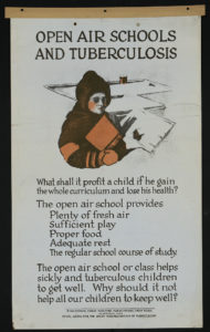 Open Air Schools and Tuberculosis