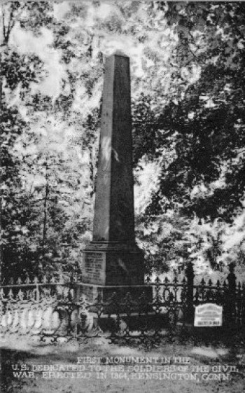 Civil War Monument, Kensington