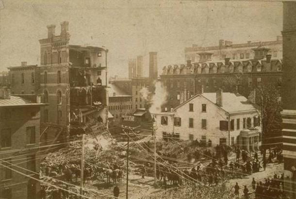 Park Central Hotel disaster