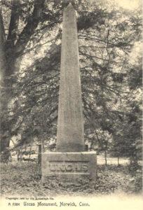 Uncas Monument