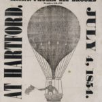 Advertisement for July 4th balloon flight