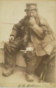 Leatherman in Wallingford, 1880s