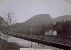 The Farmington Canal near Mount Carmel in Hamden