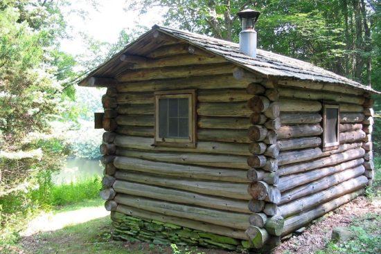 Edwin Way Teal's writing cabin at Trail Wood, Hampton