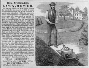"""Hills """"Archimedean"""" Lawn-Mower"""