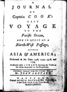 A Journal of Captain Cook's Last Voyage to the Pacific Ocean by John Ledyard