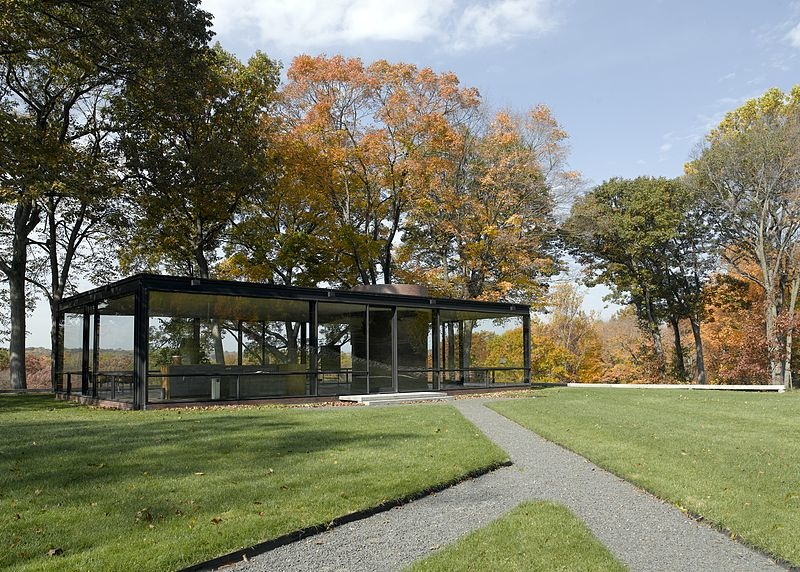Philip Johnson's Glass House, New Canaan