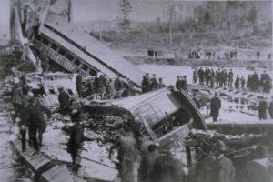 Tariffville Train Wreck