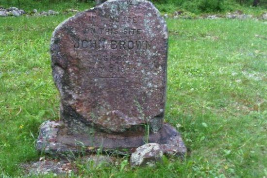The birthplace of John Brown, Torrington