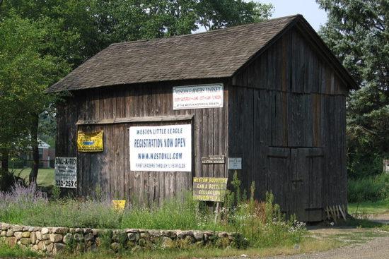 The Onion Barn, Weston