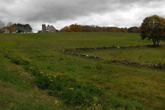 Encampment site of Rochambeau's army, Bolton