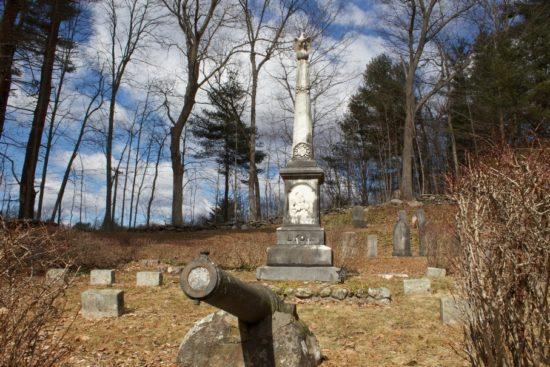 General Lyon Cemetery, Eastford