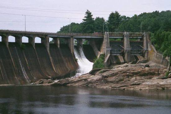 Stevenson Dam Hydroelectric Plant, Monroe