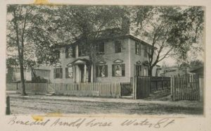 Benedict Arnold house, New Haven