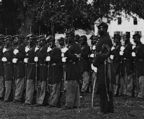 Detail view of the 29th Regiment Connecticut Volunteers
