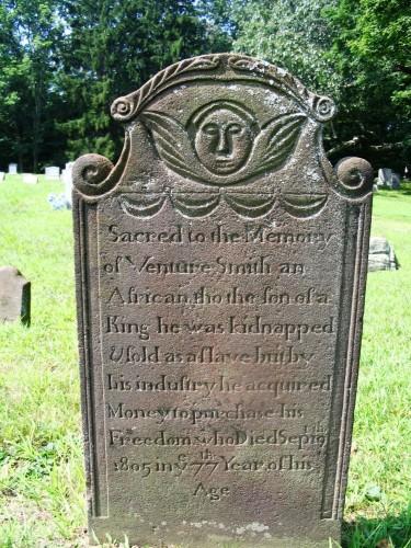 Venture Smith's headstone
