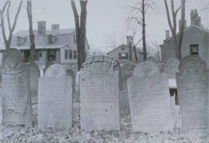 Gravestones, Old Burying Ground, Hartford