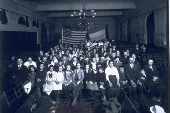 Mayor's Council Armenian Group, Hartford, 1920