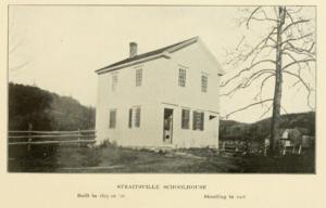 Straitsville Schoolhouse, Naugatuck