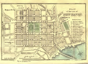 Plan of the City of New Haven