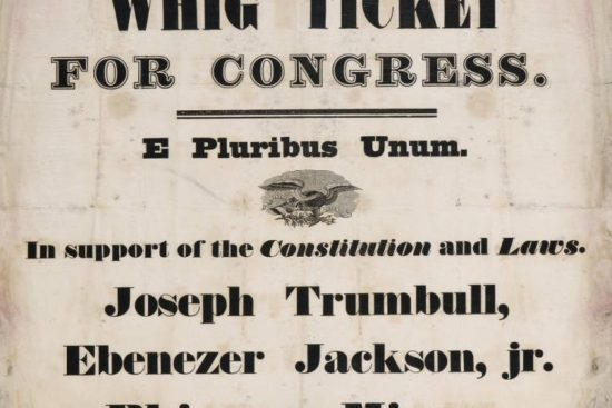 Connecticut's Whig party candidates for Congress, 1834