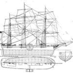 Diagram of SS Savannah