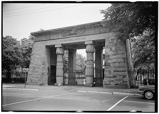 Henry Austin, Grove Street Cemetery Entrance, 1845, New Haven