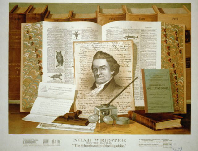 Noah Webster the schoolmaster of the republic, ca. 1891