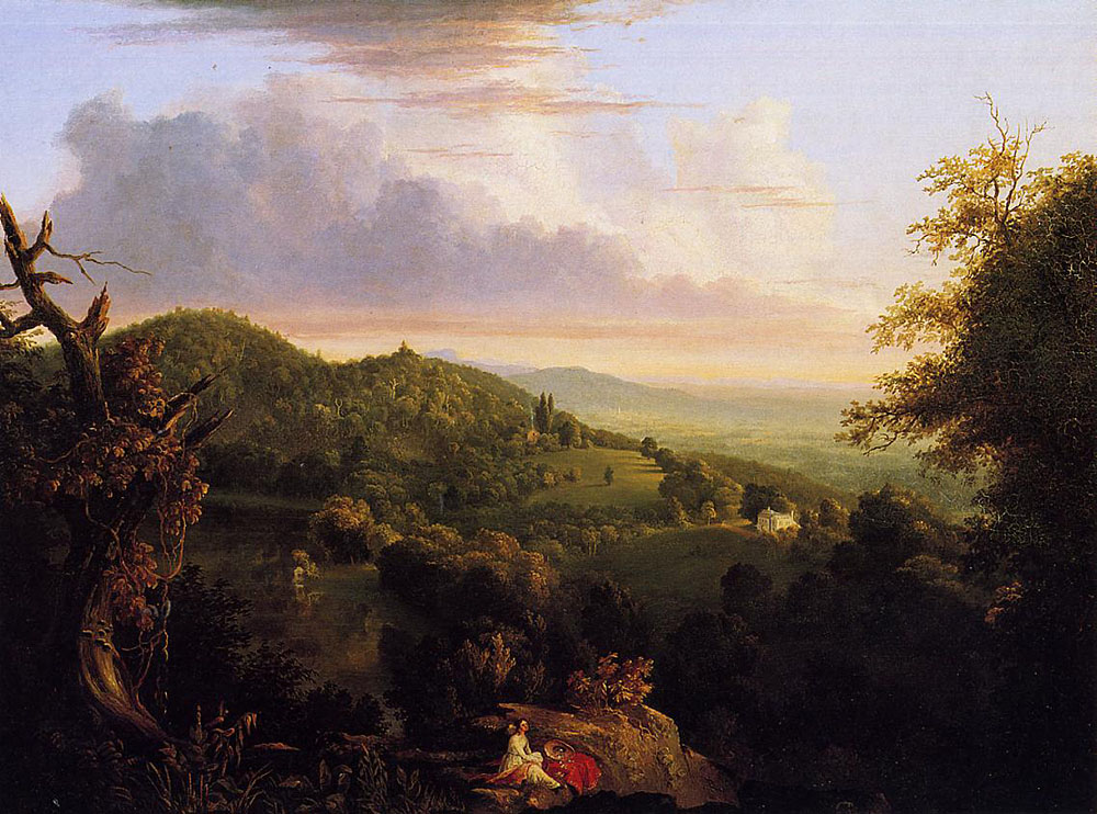 Thomas Cole, View of Monte Video, Seat of Daniel Wadsworth Esq., 1878