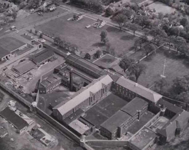 Aerial view of Connecticut State Prison